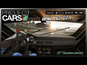 Project CARS Onboard - (Ultra Settings) BMW M3 GT4 @ Suzuka # Wet Lap