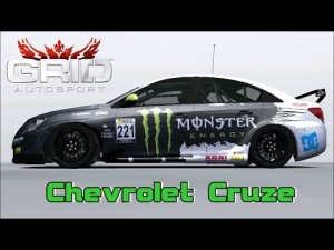 Grid Autosport - Chevrolet Cruze @ Autodromo do Algarve-Circuito Club - 3 laps race