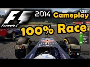 F1 2014 Gameplay Austria 100% Race Daniel Ricciardo
