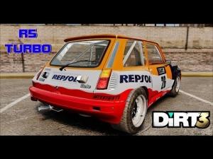 Dirt 3 - Renault 5 Turbo @ Kantvegen - Noruega # 3-4