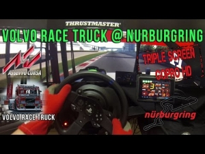 Assetto Corsa - Volvo Race Truck @ Nurburgring GP