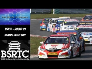 iRacing BSRTC Season 6 Round 27 from Brands Hatch Indy - 34th to 16th