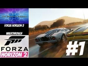 Forza Horizon 2 Gameplay Walkthrough Part 1 - Welcome to Horizon