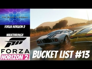 Forza Horizon 2 Bucket List Challenge #13 - How to get past this troublesome challenge
