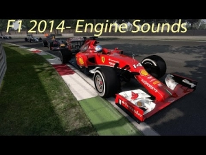 F1 2014-Engine Sound Comparison