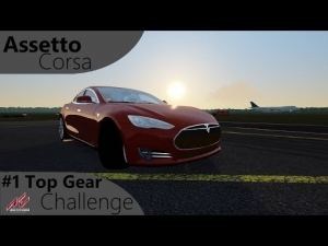 Assetto Corsa Top Gear Challenge #1 - Tesla Model S P85