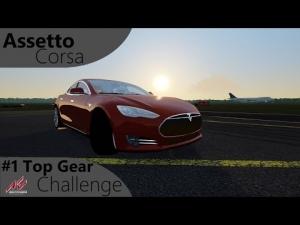 Assetto Corsa Top Gear Challenge #1 - Tesla Model S P85