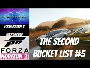 Forza Horizon 2 Xbox one The Second Bucket List #4 - Race a Hennessey Venom along the Autostrada