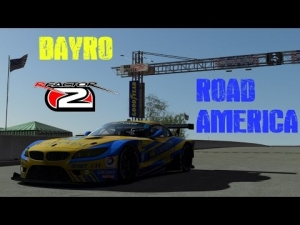 rFactor2 - Bayro - EGT Race @ Road America - with Spotter