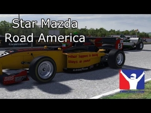iRacing - Road America Star Mazda