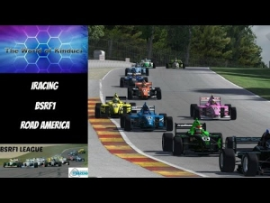 iRacing BSRF1 Season 2 Round 10 from Road America - Race of the Season!