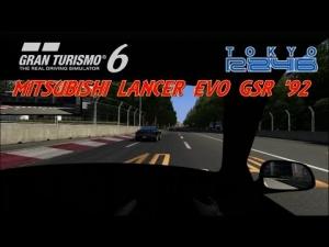 Gran Turismo 6 - Mitsubishi Lancer Evolution GSR ' 92 @ Tokyo R246