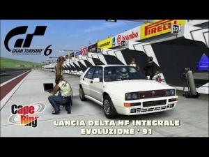 Gran Turismo 6 - Lancia DELTA HF Integrale Evoluzione ' 91 @ Cape Ring