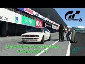 Gran Turismo 6 - Lancia DELTA HF Integrale Evoluzione ' 91 @ Suzuka Circuit