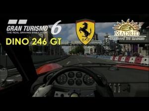 Gran Turismo 6 - Ferrari Dino 246 GT ' 71 @ Circuito de Madrid - Corto