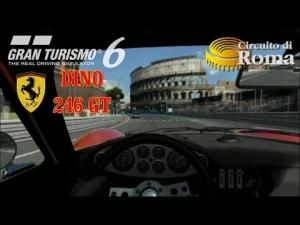 Gran Turismo 6 - Ferrari Dino 246 GT ' 71 @ Circuito di Roma