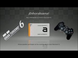 Gran Turismo 6 - Pruebas de Licencia Nacional A