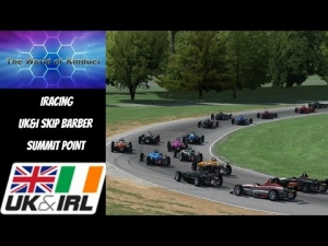 iRacing UK&I Skip Barber League race round 10 from Summit Point - Good racing action