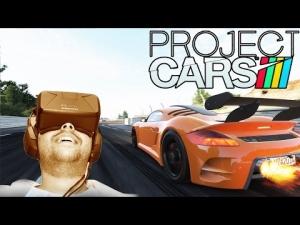Oculus Rift DK2 - Project CARS - Ruf CTR3 @ Le Mans