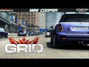 Grid Autosport - Mini Cooper race @ Chicago-The Loop - Mini Cup - 3 laps