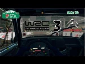 WRC 3 - Citroen BX4 TC - Wales Rally GB - Dyfnant