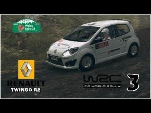 WRC 3 - Renault Twingo R2 - Wales Rally GB - Gartheiniog
