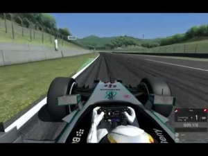 Assetto Corsa  Mercedes W05 LEWIS on Mugello (1.21.149)