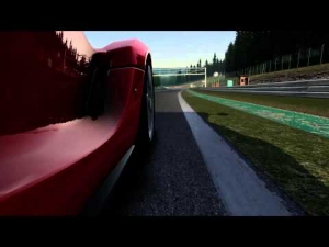 Assetto Corsa Gameplay Video: LaFerrari at Spa-Franchorchamps