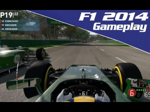 F1 2014 Exclusive Gameplay:- 3 Laps At Australia | Legend Ai