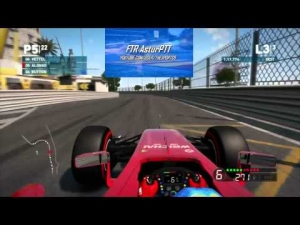 F1 2014 Game | 1st Test Ferrari @ Monaco PS3