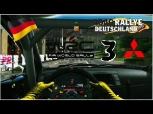 WRC 3 - Mitsubishi Lancer EVO X - Rally de Alemania - Gusenburg