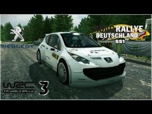 WRC 3 - Peugeot 207 S2000 @ Rally de Alemania - Arena Panzerplatte