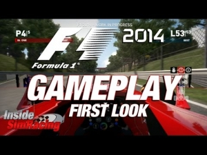 F1 2014 PS3 First Look with Thrustmaster T300 Ferrari / Monza