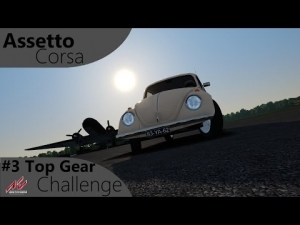 Assetto Corsa Top Gear Challenge #3 - VW Käfer/Beetle 1302