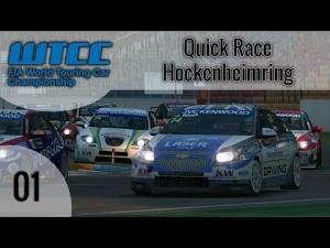 R3E WTCC 2013 #01 – Quick Race @ Hockenheimring [HD]