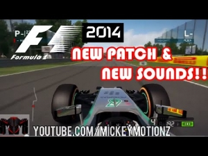 F1 2014 Gameplay - 1.01 Patch - NEW SOUNDS!! Lewis Hamilton, Fernando Alonso At Monza