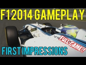 F1 2014 Gameplay - First Impressions - Austria Red Bull Ring - 25% Legend AI - Full Game