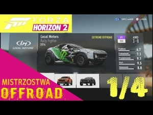 Forza Horizon 2 | Mistrzostwa OFFROAD 1/4 | Rally Fighter S1 900