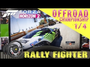 Forza Horizon 2 | Rally Fighter S1 900 | OFF Road 1/4 | Thrustmaster TX wheel rig