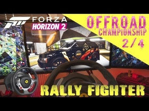 Forza Horizon 2 |  Bowler EXR | OFF Road 2/4 | Thrustmaster TX wheel rig