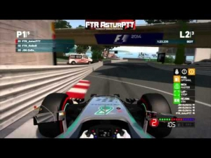 F1 2014 Online Ep.1 | Highlights (F1 Codemasters Game) PS3