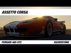 Assetto Corsa | Silverstone Hotlap | Ferrari 485 GT2 | 1:59.932