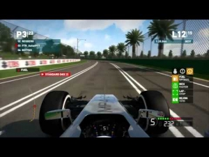 F1 2014 Melbourne || Co-op Career Mode Round 1 (McLaren-Mercedes)