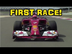 F1 2014 First Race - Kimi Raikkonen in Bahrain