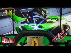Assetto Corsa | *NEW* LaFerrari | first ride at Nurb GP | onboard Triple Screen
