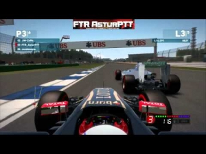 F1 2014 Game | Online Races Compilation PS3