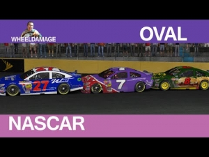 2014 NASCAR iRacing Series Bank of America 500 Charlotte 167 laps