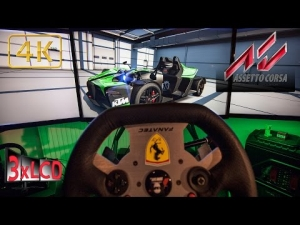 Assetto Corsa | KTM at *NEW* Trento Bondone mountain route |  physics chassis show | Triple Screen