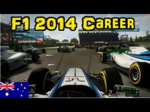 F1 2014 Career - Part 1: Australia