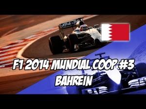 F1 2014 Sakhir Bahrain | Co-op Career Mode Round 3 | PS3